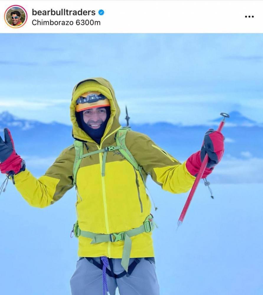 Trading and Climbing in Ecuador!
